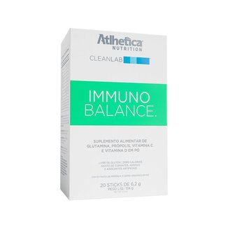 CLEANLAB IMMUNO BALANCE (Caixa 20 Sticks) - Atlhetica Nutrition