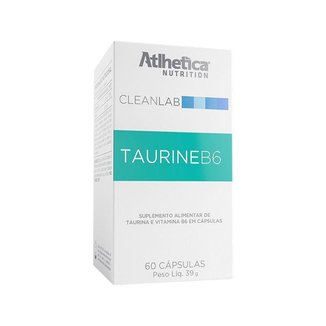 CLEANLAB TAURINE B6 (60 Cápsulas) - Atlhetica Nutrition