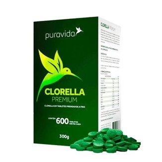 Clorella Premium (600 tabletes) - Puravida