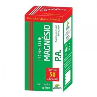 Cloreto de Magnésio PA 500mg Medinal 50Caps