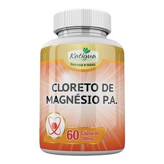 Cloreto de Magnésio P.A. - 60 cápsulas - Katigua
