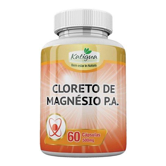 Cloreto de Magnésio P.A. - 60 cápsulas - Katigua -