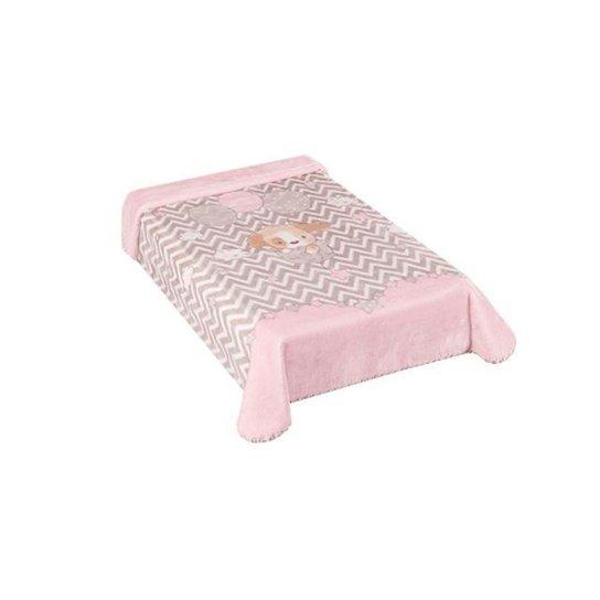 Cobertor Colibri Le Petit Cachorrinho Rosa - Rosa