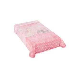 Cobertor Colibri Le Petit Zoo Rosa