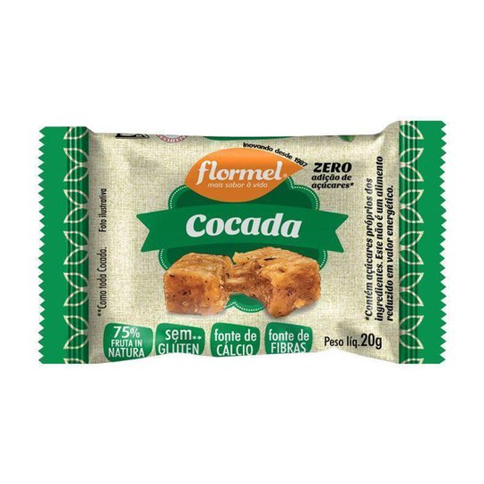 Cocada 20g Flormel -