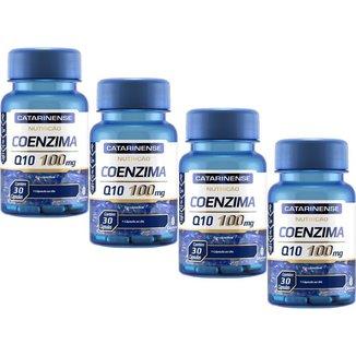 Coenzima Q10 100mg 4x 30 cápsulas Catarinense