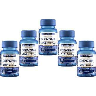 Coenzima Q10 100mg 5x 30 cápsulas Catarinense