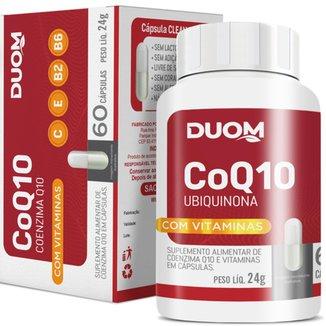 COENZIMA Q10 UBIQUINONA + VITAMINAS C E B2 B6 60 CAPS – DUOM