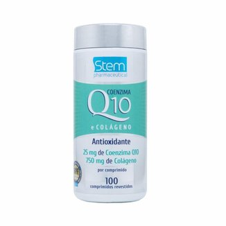 CoenzimaQ10 + Colágeno (100 Comprimidos) - Stem Pharmaceutical