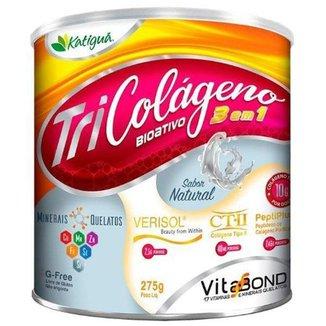 Colágeno Bioativo 3 em 1 - 275 Gramas Katigua Natural