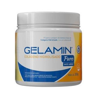 Colágeno Gelamin Puro Hidrolisado pote 300g