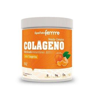 Colágeno Hidrolisado Beauty Complex Apisnutri 200g Tangerina
