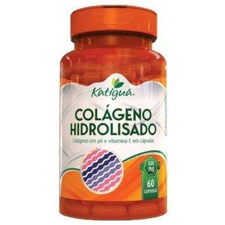 Colágeno Hidrolisado com Vitamina C 60 Cáps Katigua