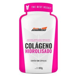 Colágeno Hidrolisado New Millen 120 Cápsulas