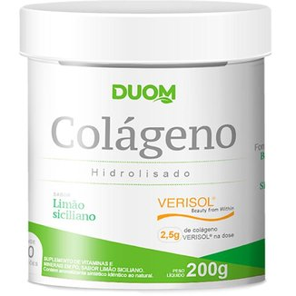 Colágeno Hidrolisado Verisol 200g - Duom