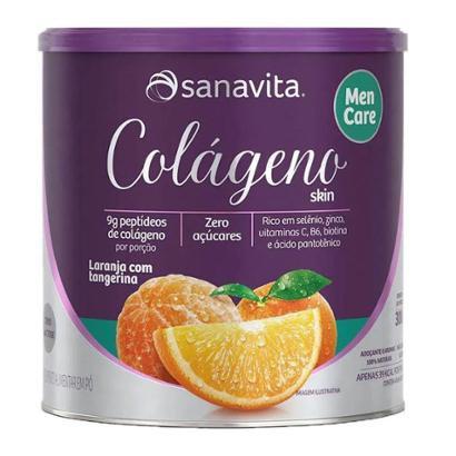 Colágeno Skin Men CareSanavita Lata 300g