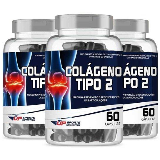 Colágeno Up Sports Nutrition Tipo 2 40mg 60 cápsulas Leve 3 Pague 2 -