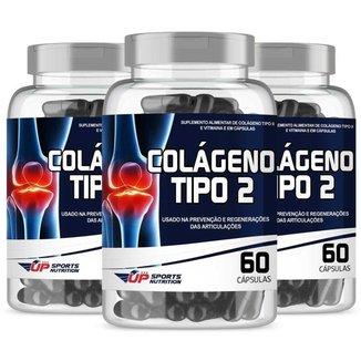 Colágeno Up Sports Nutrition Tipo 2 40mg 60 cápsulas Leve 3 Pague 2