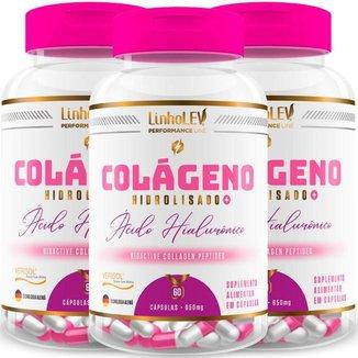 Colágeno Verisol® + Ácido Hialurônico 3 Frascos