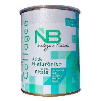 COLAGENO VERISOL SKIN + ÁCIDO HIALURÔNICO 300 G Sabor Pitaia - Marca NB BELEZASAUDE