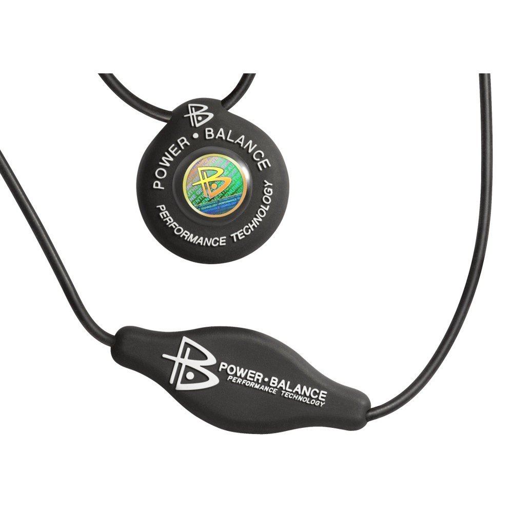 Colar De Zinco - Power Balance - Preto