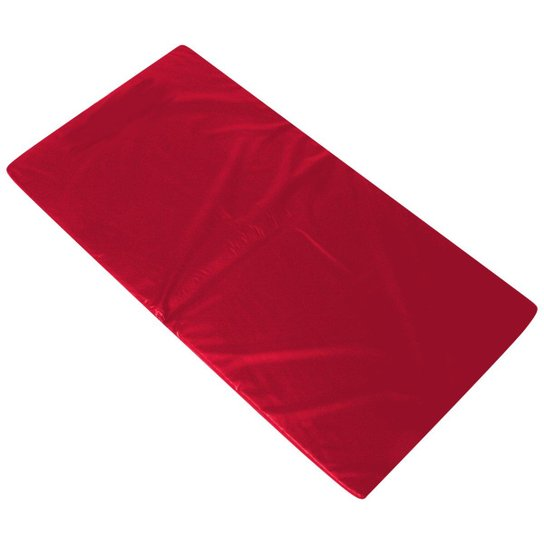 Colchonete Academia Orthovida D33 100 x 50 x 3 cm - Vermelho