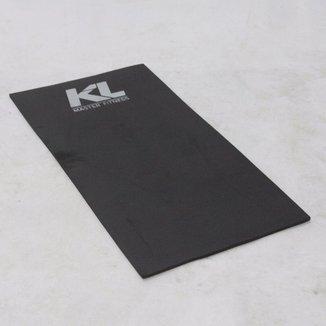 Colchonete Kl Master Fitness Eva Preto 100cm x 50cm x 10mm
