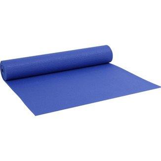 Colchonete Tapete Yoga Pvc Ginástica Pilates 5mm - Azul