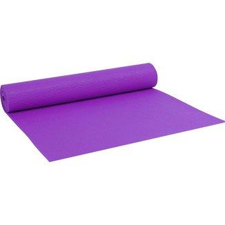 Colchonete Tapete Yoga Pvc Ginástica Pilates 5mm - Roxo