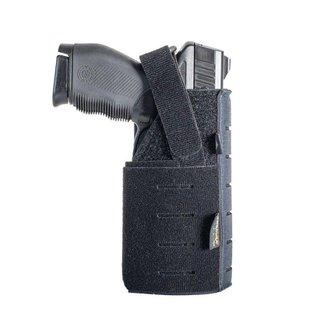 Coldre Modular Warfare Police Para Pistola Taser Spark Azul Dark