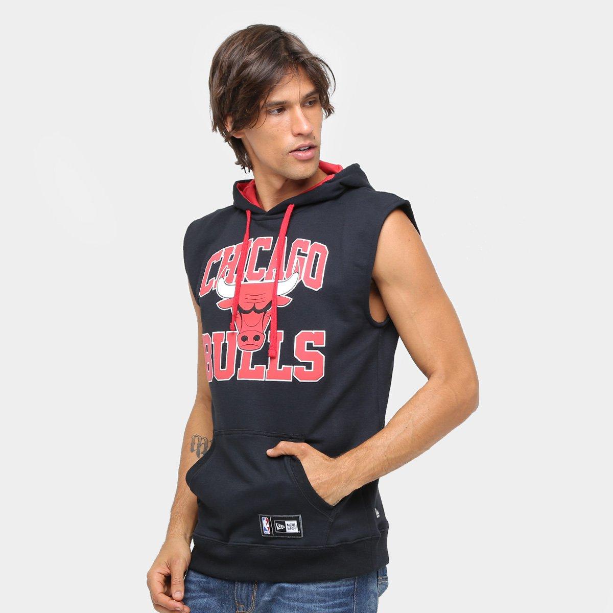 Colete Chicago Bulls NBA New Era Canguru Big College Masculino - Marinho e  Vermelho - Compre Agora  d0efbb912eba