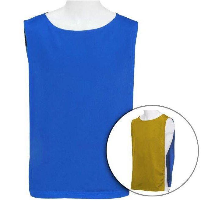 261a43aaf9 Colete Dupla Face Colmeia - Azul Royal e Amarelo - Compre Agora ...