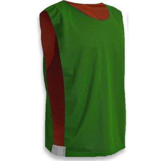 Colete Dupla Face Verde e Vermelho TAM G