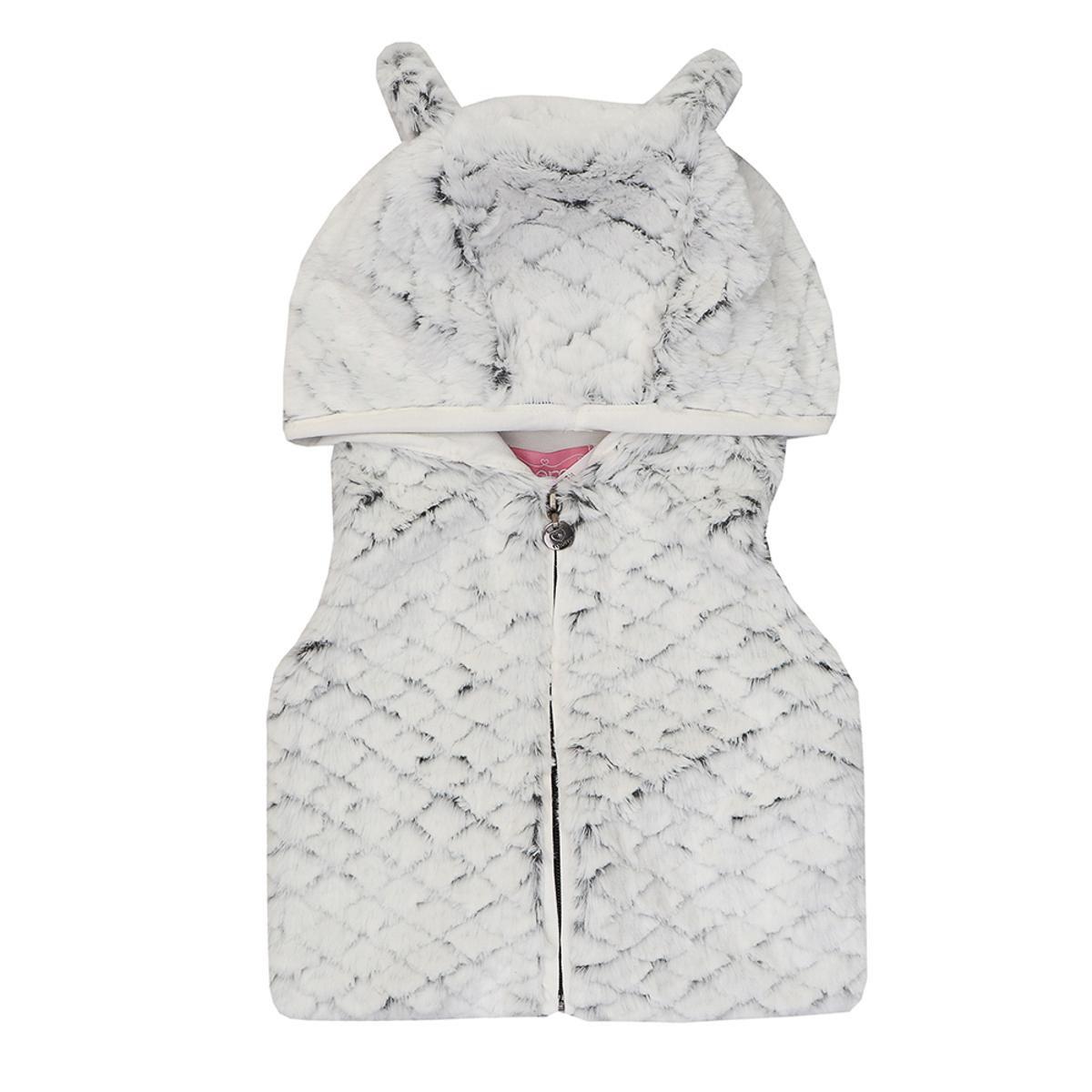 Colete Infantil Momi com Orelhinhas Feminina - Branco - Compre Agora ... 387740d7334c8