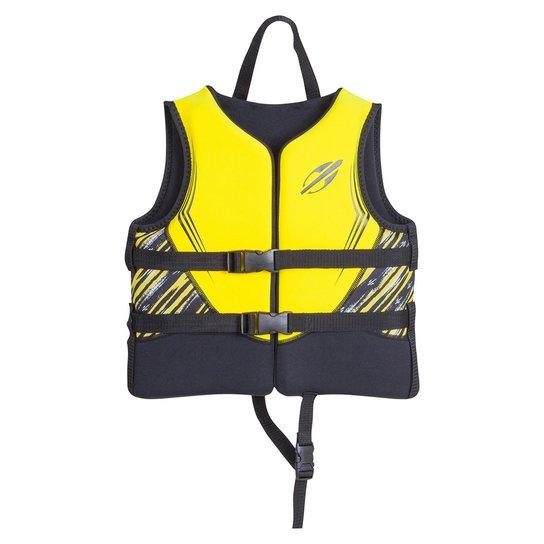 Colete Infantil Salva Vidas Neoprene - Amarelo Escuro