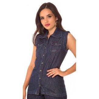 Colete Jeans Express Fernanda
