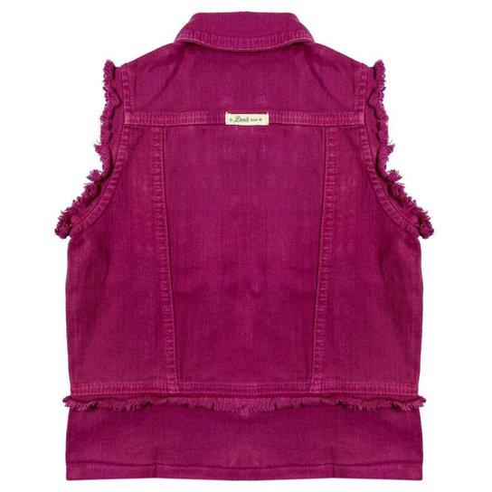Colete Look Jeans Max Sarja - MAGENTA - 12 - Pink