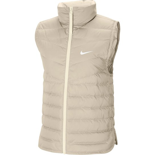 Colete Nike Sportswear Windrunner Feminino - Rosa+Bege