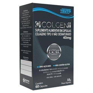 Colgen II Colágeno tipo 2 40mg 60 cápsulas Teuto
