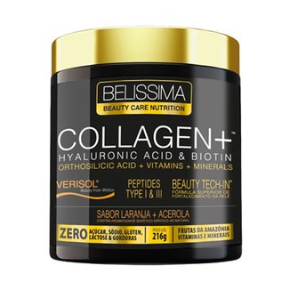 Collagen+ 216g Laranja + Acerola - Belissima Beauty Care Nutrition