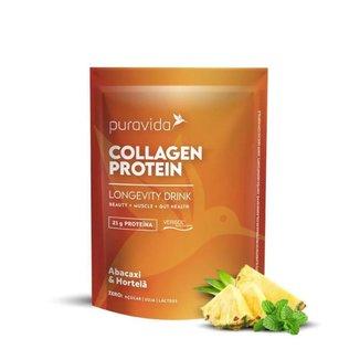Collagen Protein  Proteina de Colageno 450g Puravida