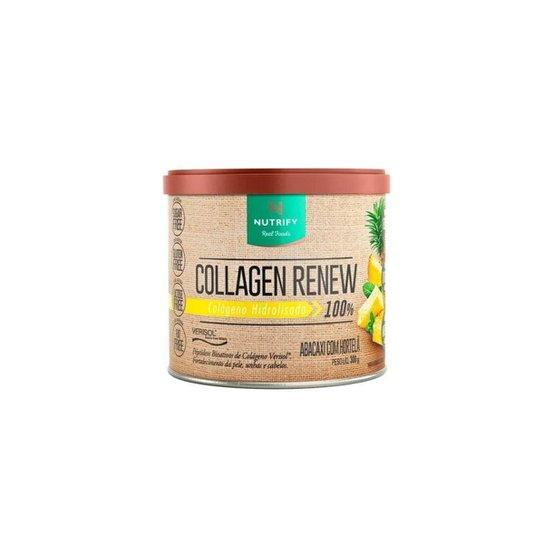 Collagen Renew Hidrolisado Nutrify - 300g - Colágeno Verisol -
