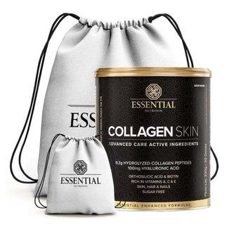 Collagen Skin 330G + Mochila - Essential Nutrition (Sem Sabor)