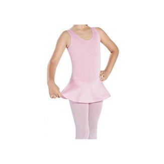 Collant Ballet Regata com Saia Infantil Capézio R