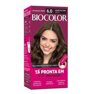 Coloração Biocolor Mini Kit - Tons Claros 6.0 Louro Escuro