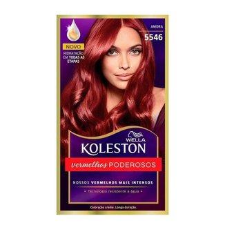 Coloração Creme Wella – Koleston Tons Vermelhos Amora