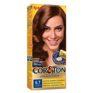 Coloração Niely Cor&Ton - Tons Castanhos 6.7 Chocolate