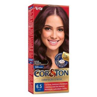 Coloração Niely Cor&Ton - Tons Vermelhos 6.5 Acaju