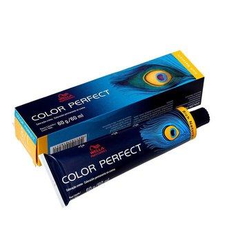 Coloração Permanente Wella Professionals Color Perfect Rich Naturals 8/1 Louro Claro Acinzentado