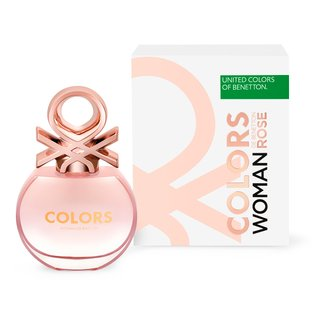 Colors Her Rose Benetton - Perfume Feminino Eau de Toilette - 50ml